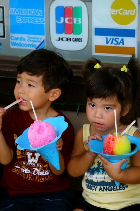 Shave Ice for the Kids