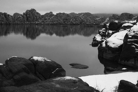 Prescott in Black & White