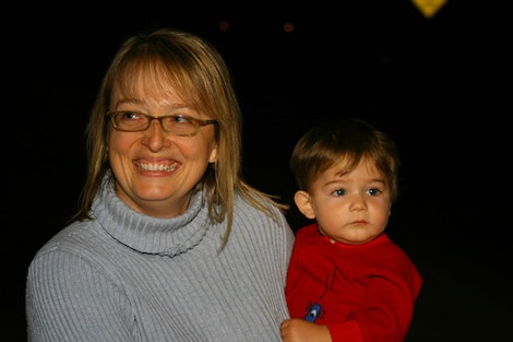 Ethan and Mom