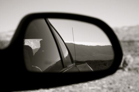 Leaving Death Valley