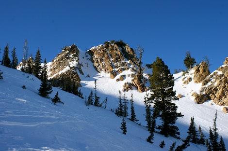 Snowbasin Chute