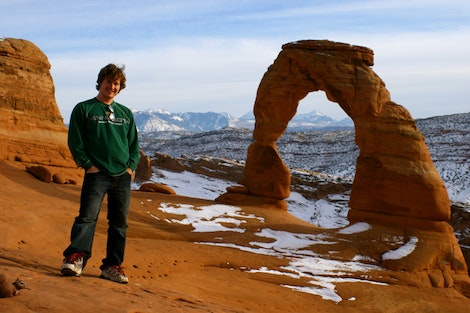Bugsy at Delicate Arch