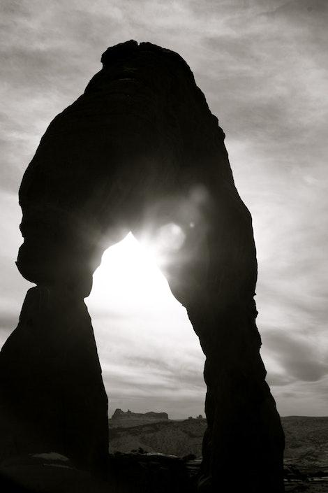 Delicate Rock Arch