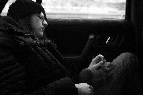 Jen and Rice Sleeping