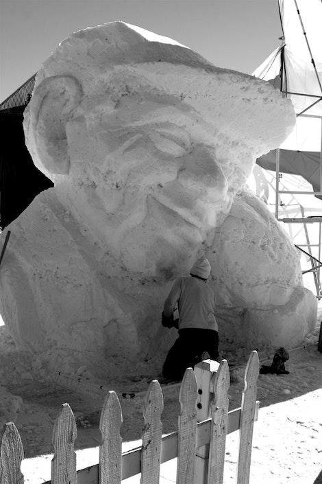 International Ice Sculpture #1