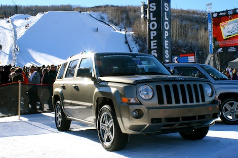 Jeep at the X Games