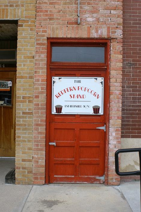 Redfern Popcorn Stand Since 1930
