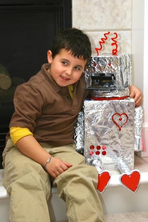 Brenden's Valentine Robot