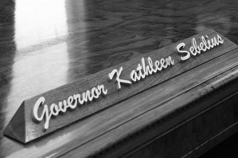 Governor Kathleen Sebelius' Desk #2