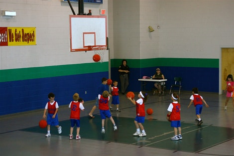 Kindergarten Basketball