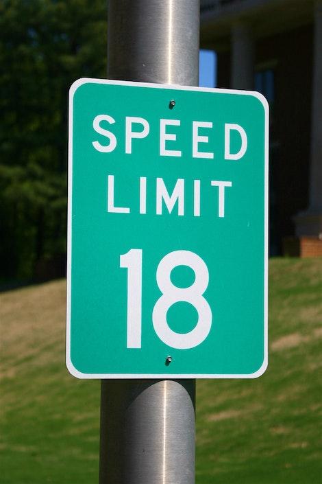Speed Limit 18