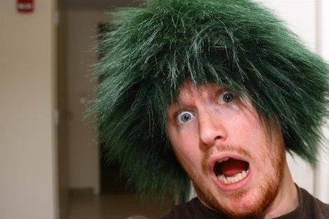 Green Green Caveman #1