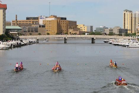 Tampa Dragon Boat Racing