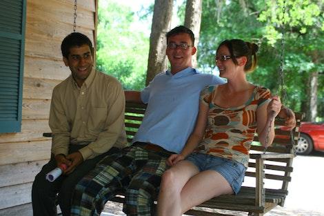 AJ, Mark, and Lindsay