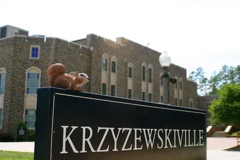 Rice at Krzyzewskiville