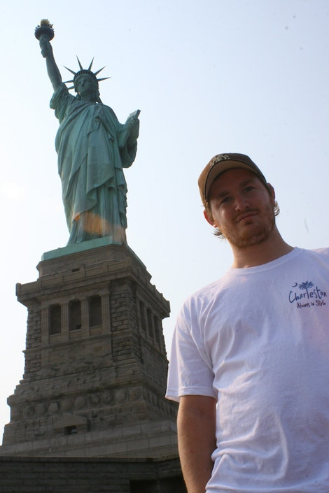 The Statue of Liberty with Bugsy