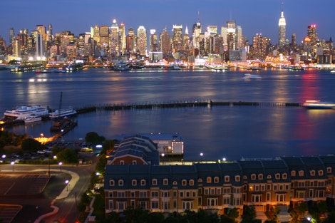 NJ Townhomes with NYC View