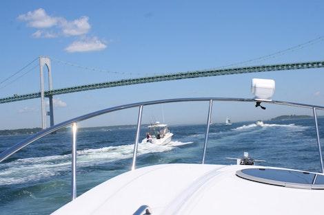 Boat Ride in RI