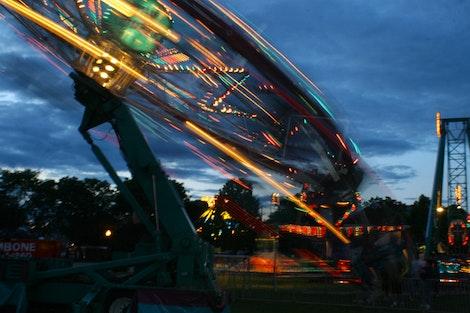 Carnival Ride by Dusk