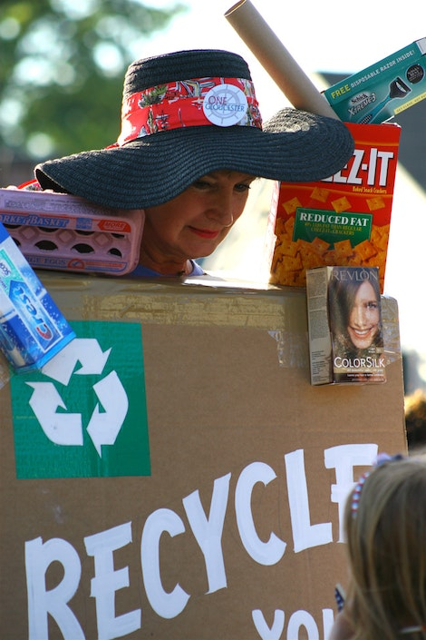 Recycle Woman