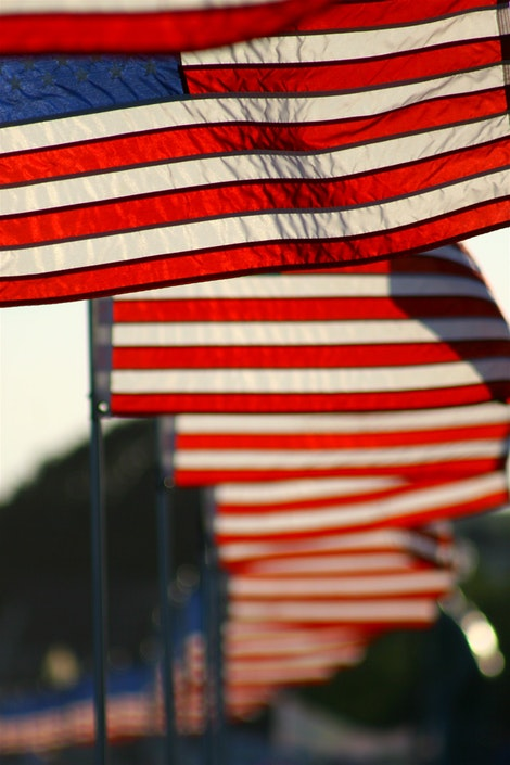 United States Flags of America