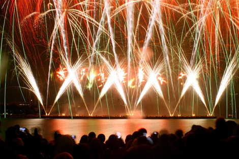 Boston Fireworks Crowd #1