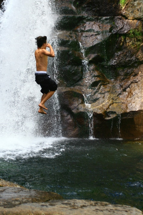 Cliff Jumping #1