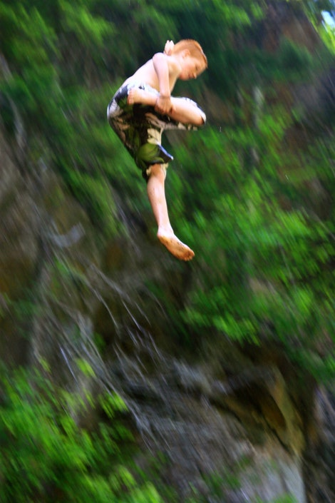 Cliff Jumping #2