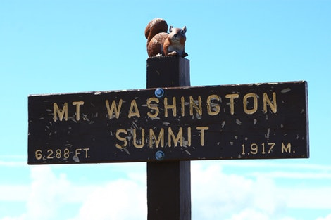 Rice at the Mount Washington Summit