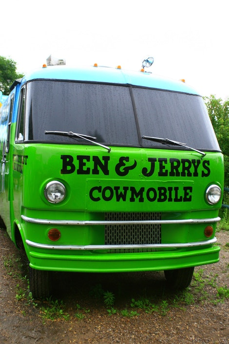 Ben & Jerry's Bus