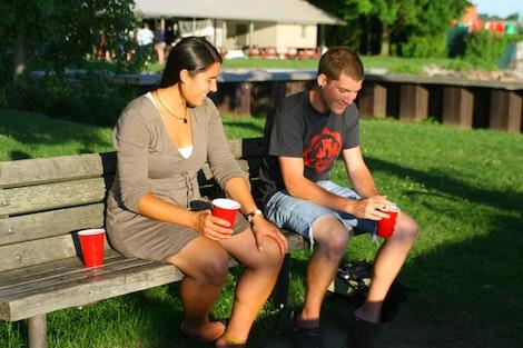 Tara and Zach