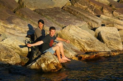 Tara, Zach, and Champlain