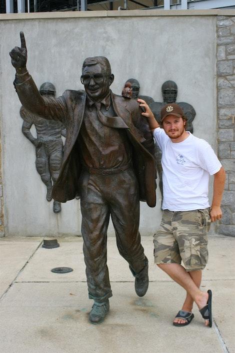 Joe Pa and I
