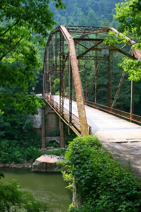 The Blue Plunge Bridge