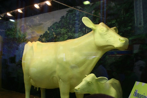 The Butter Cow