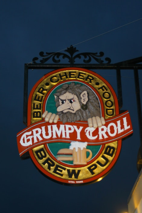 Grumpy (and ugly?) Troll – Mt  Horeb, Wisconsin