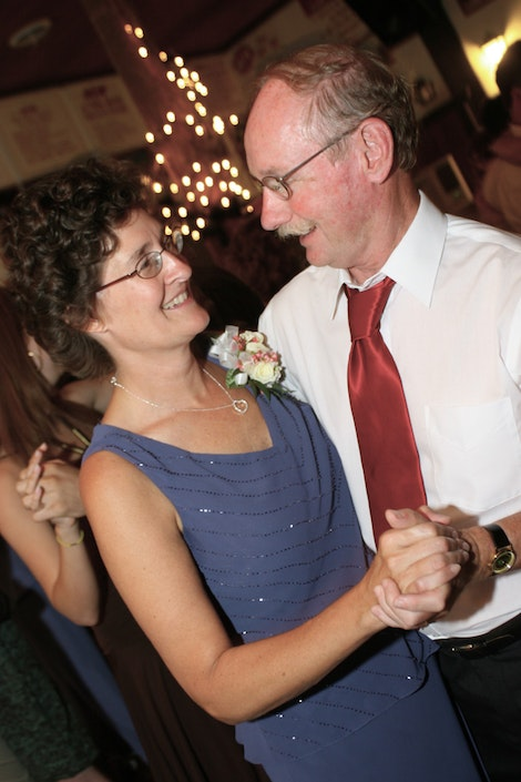 Mom and Dad Have Their Dance