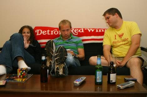 Amanda, Eric, Mike