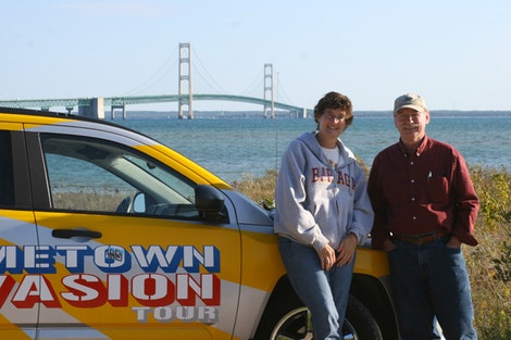 Mom, Dad, and Mackinac