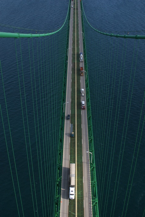 The Mackinac Bridge #1