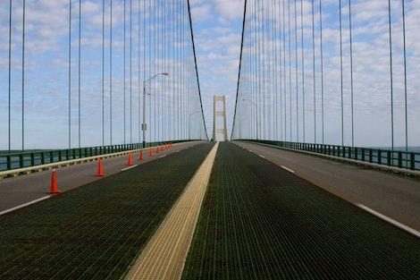 The Mackinac Bridge #4