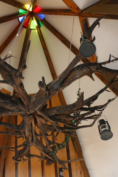Teepee House: Chandelier