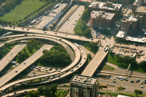 Chicago Traffic from Above