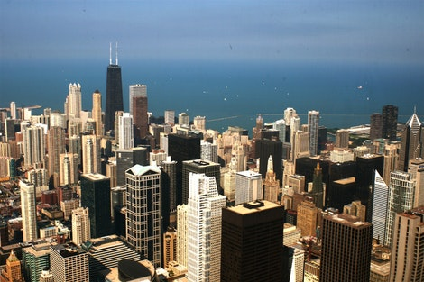 Skyline from Sears Tower