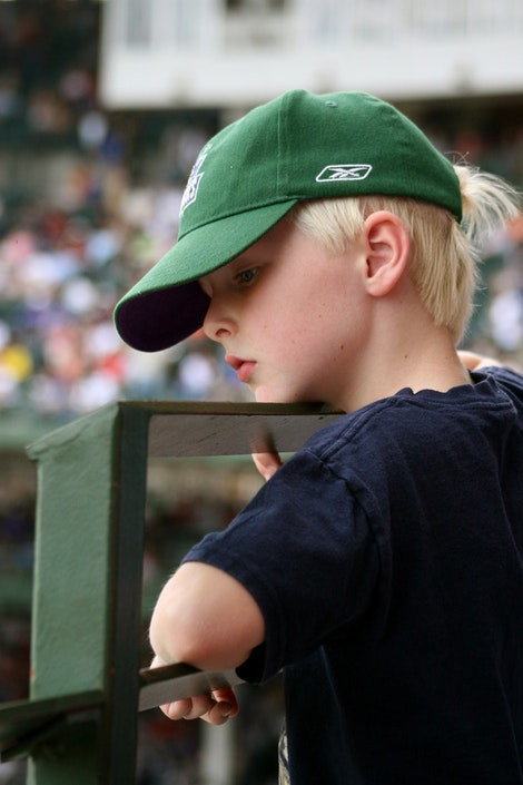 A Young Cubs Fan