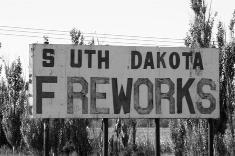 South Dakota Freworks