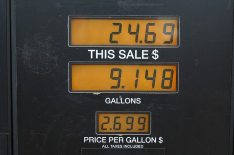 Ouch! $2.70 per gallon