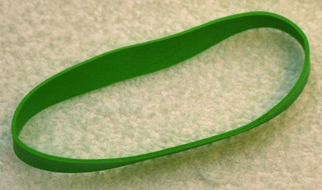 Green Rubberband