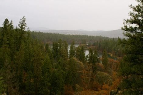 Overlooking Deep Creek
