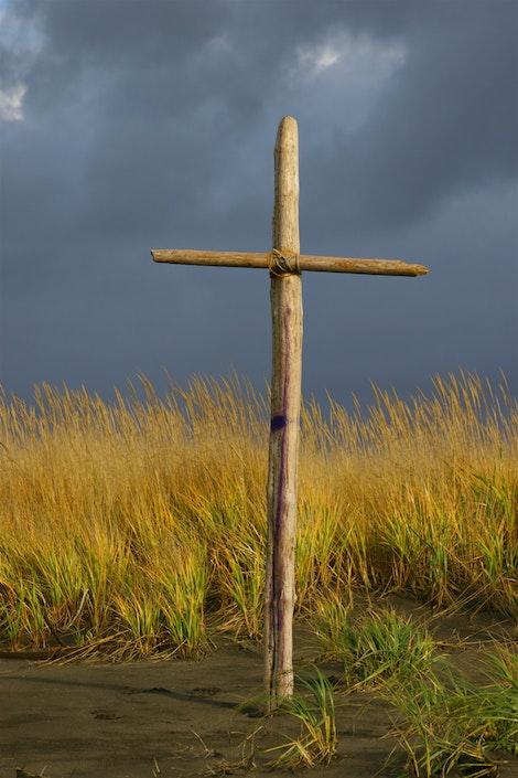 The Cross Behind Me